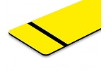 FLEX-Matte Yellow/Black-Adhesive-12x24x020