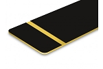Flex-Award-Black/Gold-G12x24x1/250 (BOX OF 10)