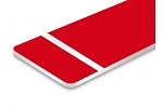 Flex-Award-Red/White-12x24x1/250 (BOX OF 10)