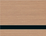 FLEX Brushed Copper/Black-12x24x020-With Adhesive